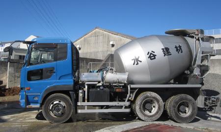 10トン ミキサー車